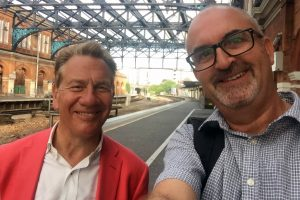 Michael Portillo Selfie