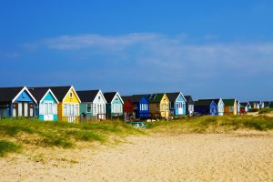 Mudeford Beach Huts by Nick Fewings